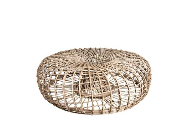 Bilde av Cane-Line Nest krakk/sofabord OUTDOOR, stor, dia. 130 cm