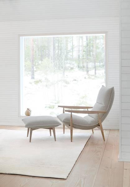 Bilde av Adea Tao Lounge- Orsetto 012 PG5- Hvitpigmentert Ask