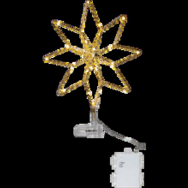 Bilde av Star Topsy star decoration attery