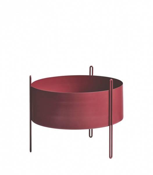 Bilde av Woud Pidestall flowerpot medium red