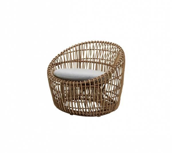 Bilde av Cane-line Nest round stol, outdoor