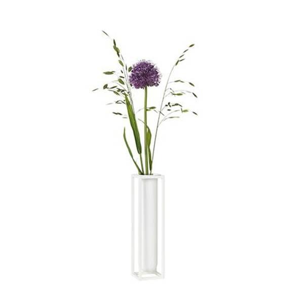 Bilde av By lassen kubus vase flora, hvit