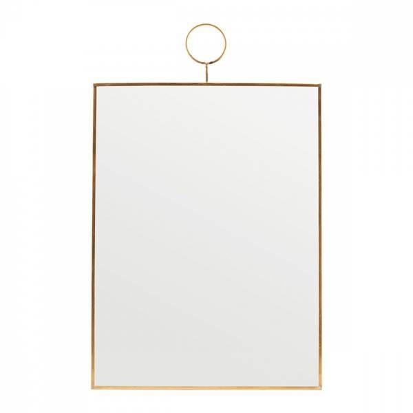 Bilde av House Doctor Loop speil, messing