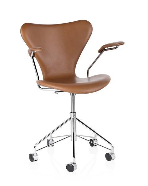 Bilde av Series7™ kontorstol med arm - fullpolstret Wild Walnut