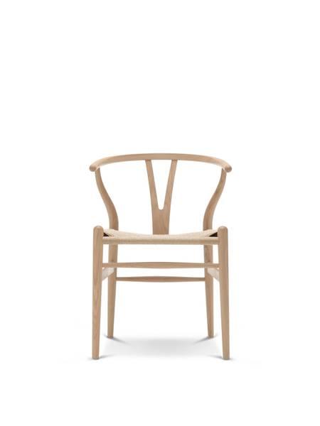 Bilde av Carl Hansen CH24 Wishbone chair hvitoljet eik