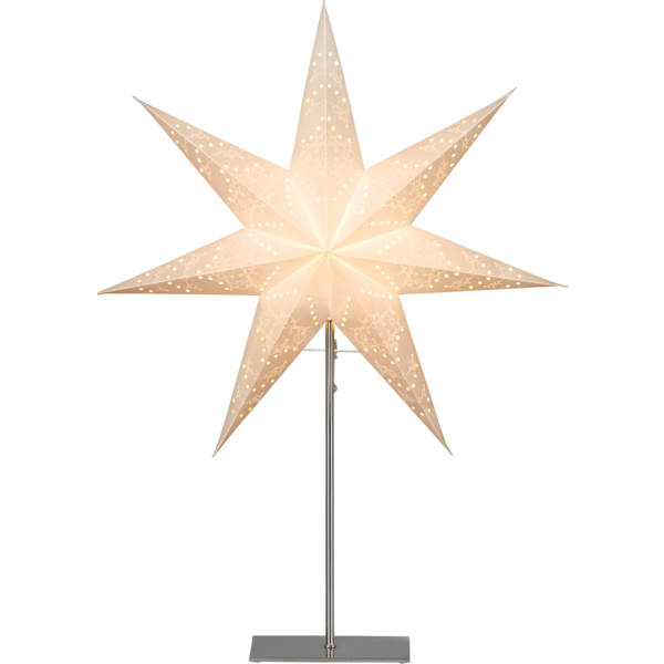 Bilde av Star sensy star on base, 78cm