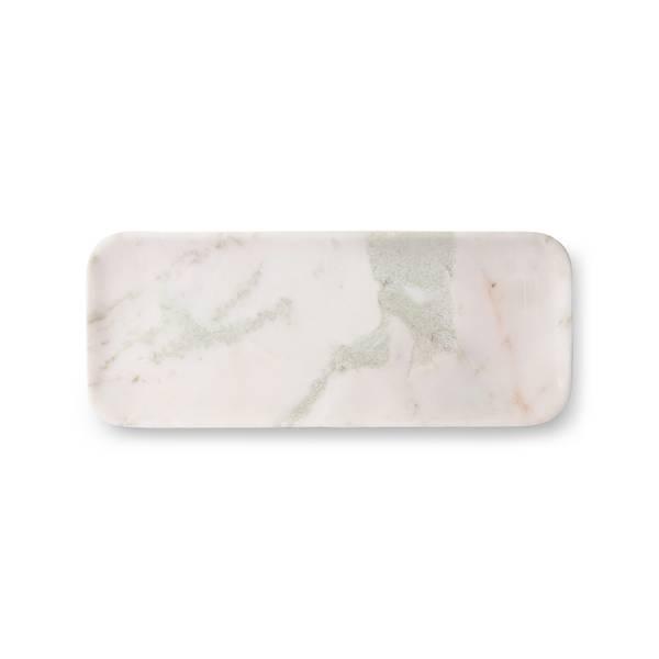 Bilde av HKliving marble tray white/green/pink