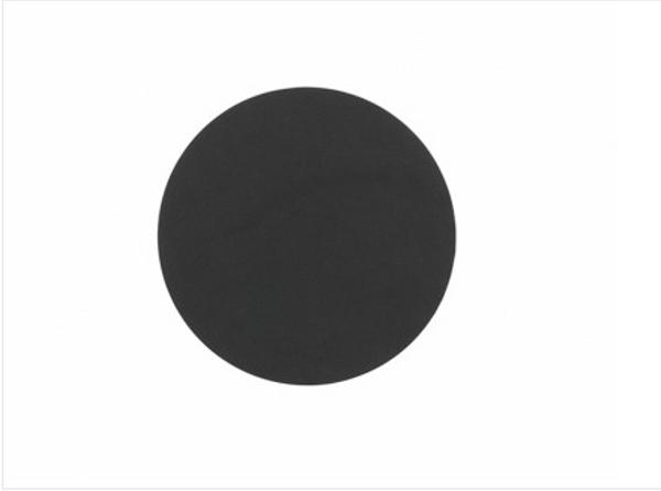Bilde av glass mat circle 10cm nupo black